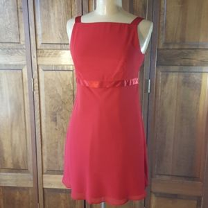 Scott McClintock Red Dress, Size 8P